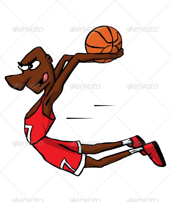 Basketball Player by Marjan2 | - 89.1KB
