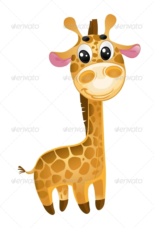 Soft Toys - Baby Giraffe - Animals Characters