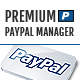 Premium Paypal Manager - CodeCanyon Item for Sale