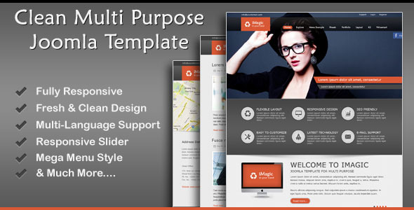 iMagic – Responsive Multi-Purpose Joomla Theme