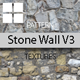 Old Stone Wall Patterns V3 - GraphicRiver Item for Sale