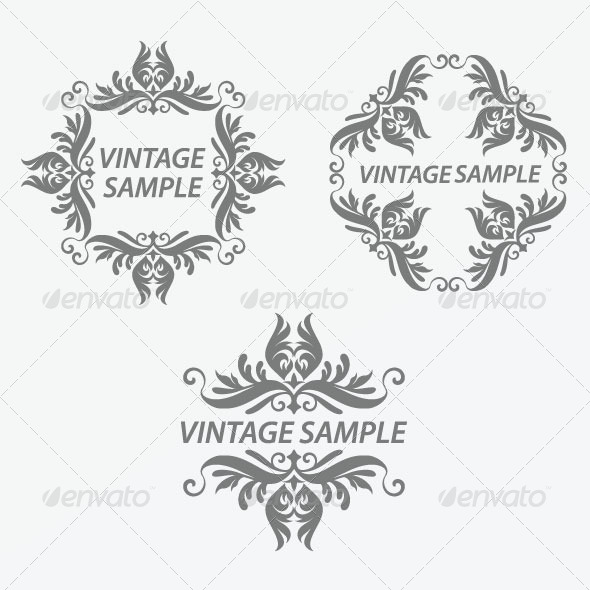 Vintage Frame 31 - Decorative Vectors