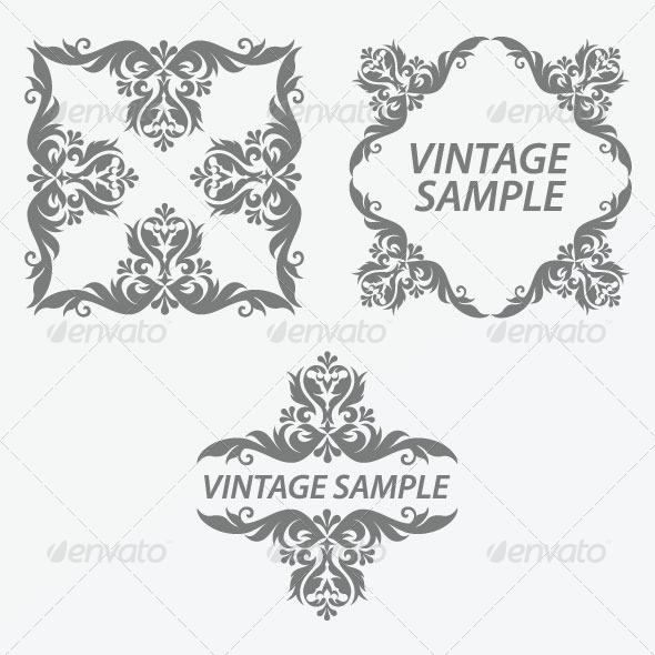 Vintage Frame 33 - Decorative Vectors