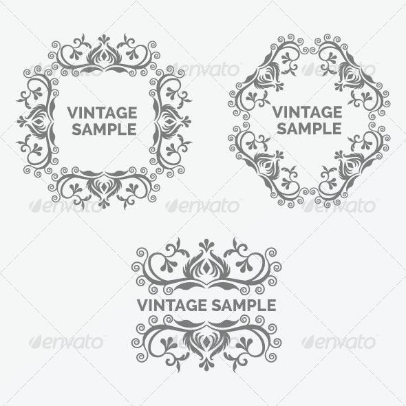 Vintage Frame 34 - Decorative Vectors
