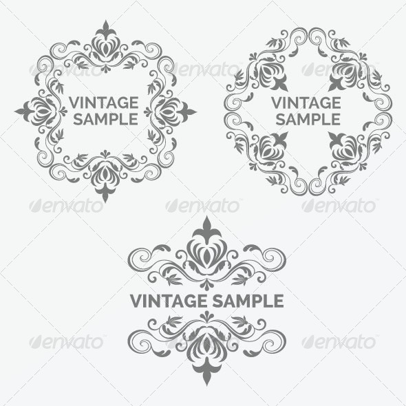 Vintage Frame 35 - Decorative Vectors