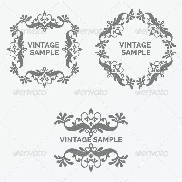 Vintage Frame 38 - Decorative Vectors