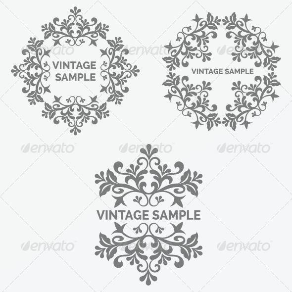 Vintage Frame 39 - Decorative Vectors