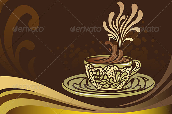 Coffee Mug - Decorative Vectors