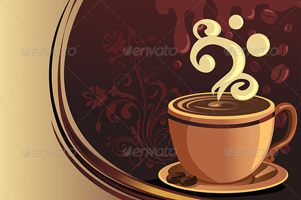 Coffee Mug - Decorative Vectors