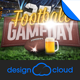 Football Game Day Event Promo Flyer