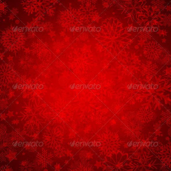 Christmas Snowflakes - Christmas Seasons/Holidays