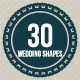 30 Shapes for Wedding - GraphicRiver Item for Sale