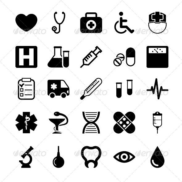 Medical Icons Set - Icons