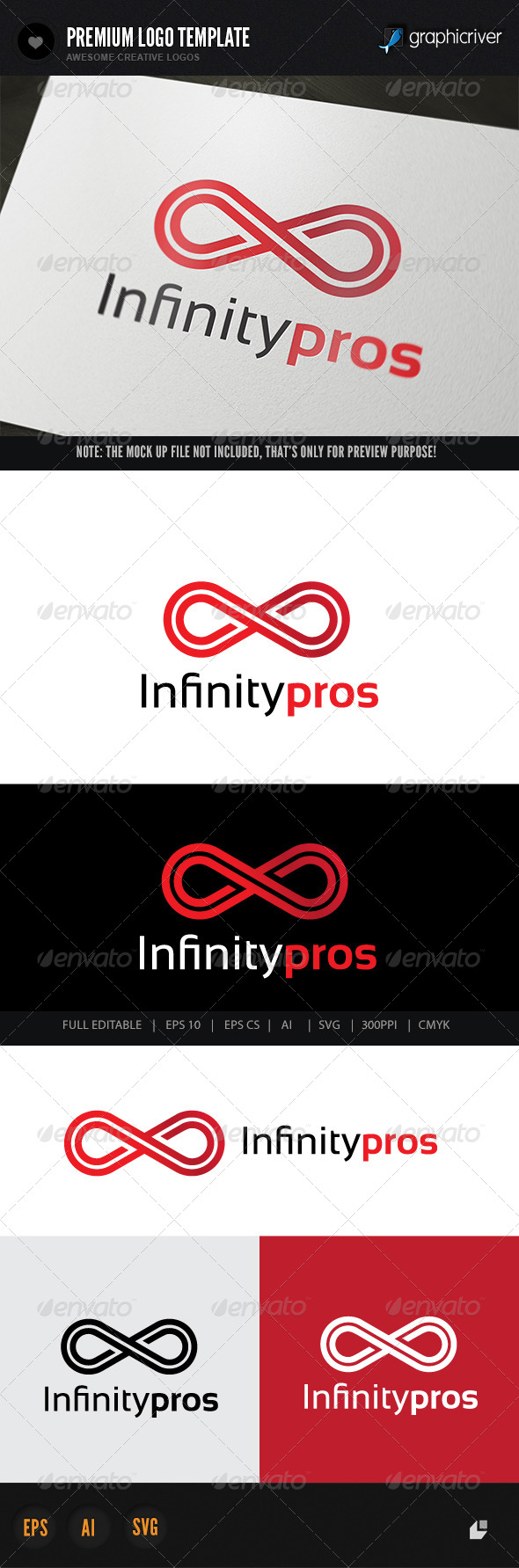 Infinity Pros - Abstract Logo Templates