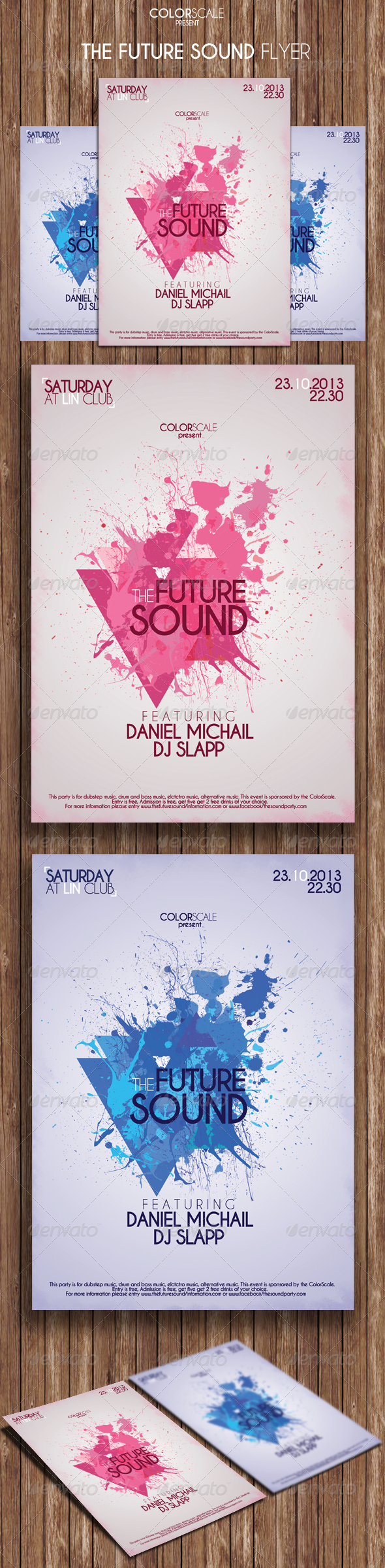 The Future Sound Flyer - Events Flyers