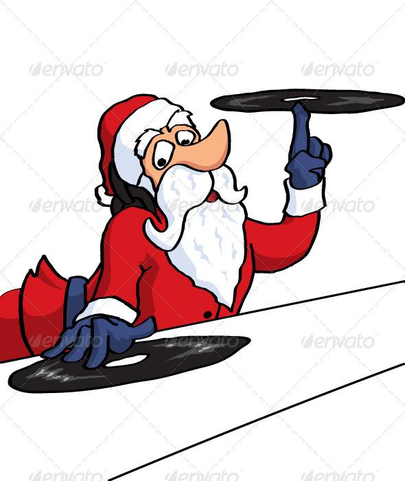 DJ Santa - New Year Seasons/Holidays