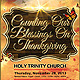 Thanksgiving Blessing Church Flyer - GraphicRiver Item for Sale