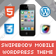 Swipebody Mobile | Mobile WordPress Theme - ThemeForest Item for Sale