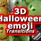 Halloween Emoji Transitions - VideoHive Item for Sale