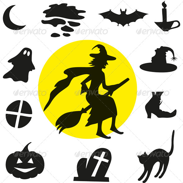 Halloween Silhouettes - Halloween Seasons/Holidays