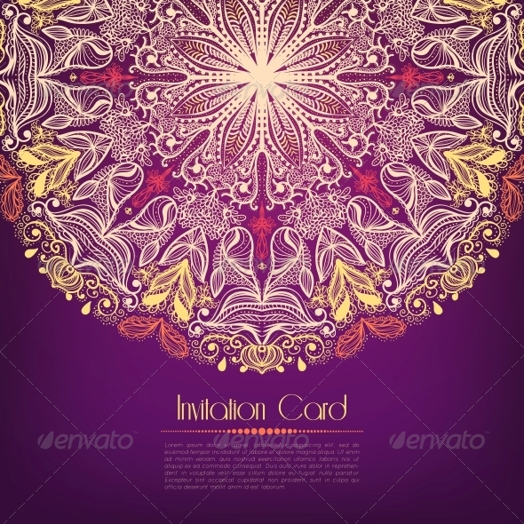 Invitation Card - Miscellaneous Seasons/Holidays