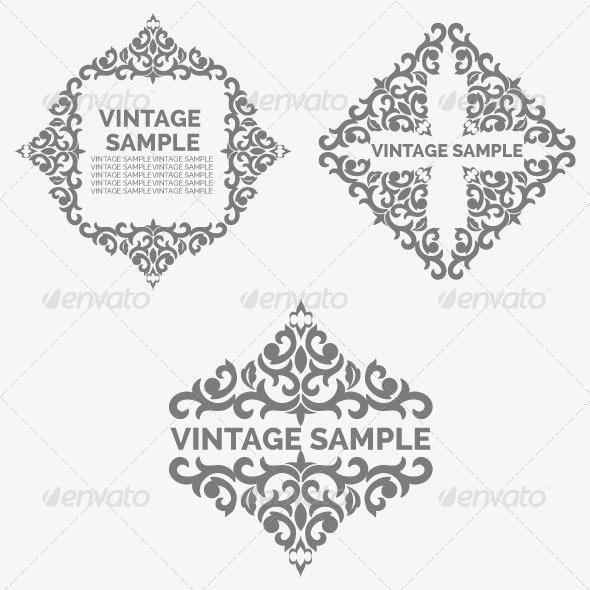 Vintage Frame 42 - Decorative Vectors