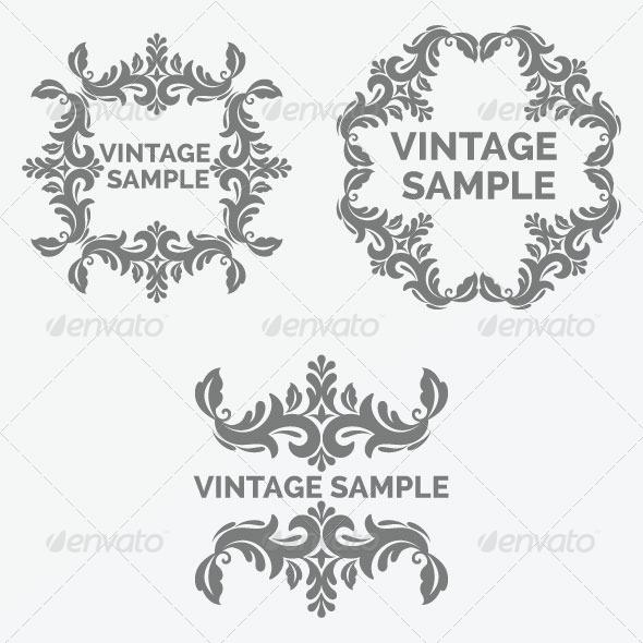 Vintage Frames 43 - Decorative Vectors