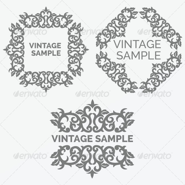 Vintage Frame 44 - Decorative Vectors