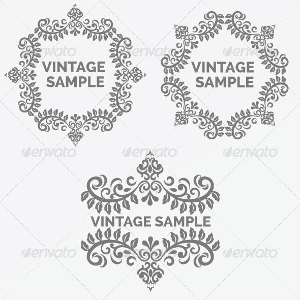 Vintage Frame 46 - Decorative Vectors