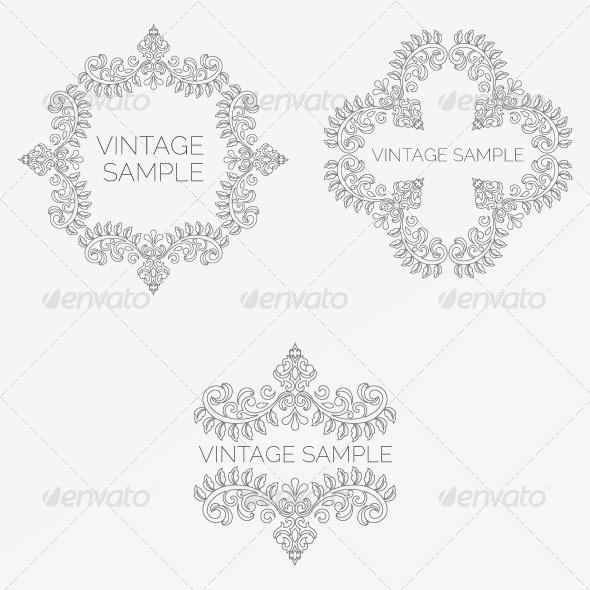 Vintage Frame 47 - Decorative Vectors