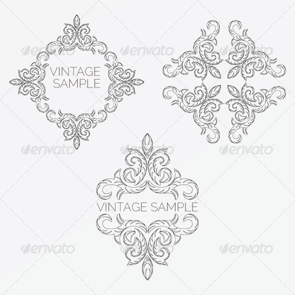 Vintage Frame 49 - Decorative Vectors