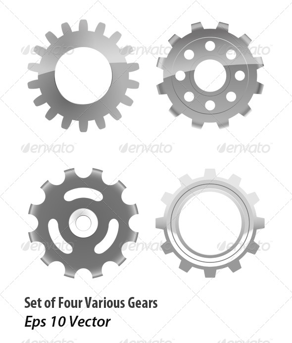 Gears - Objects Vectors