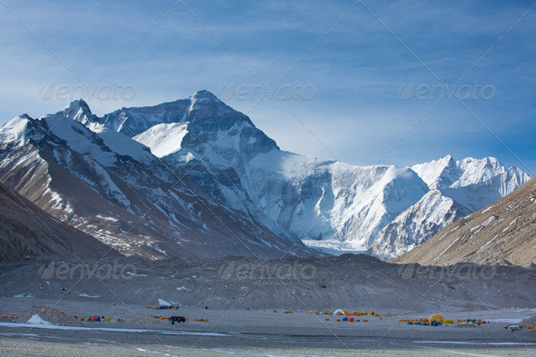 The Himalaya Chain - Stock Photo - Images