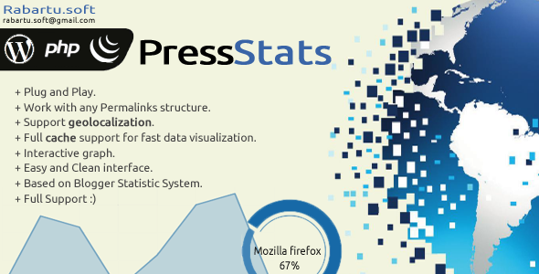 PressStats - CodeCanyon Item for Sale
