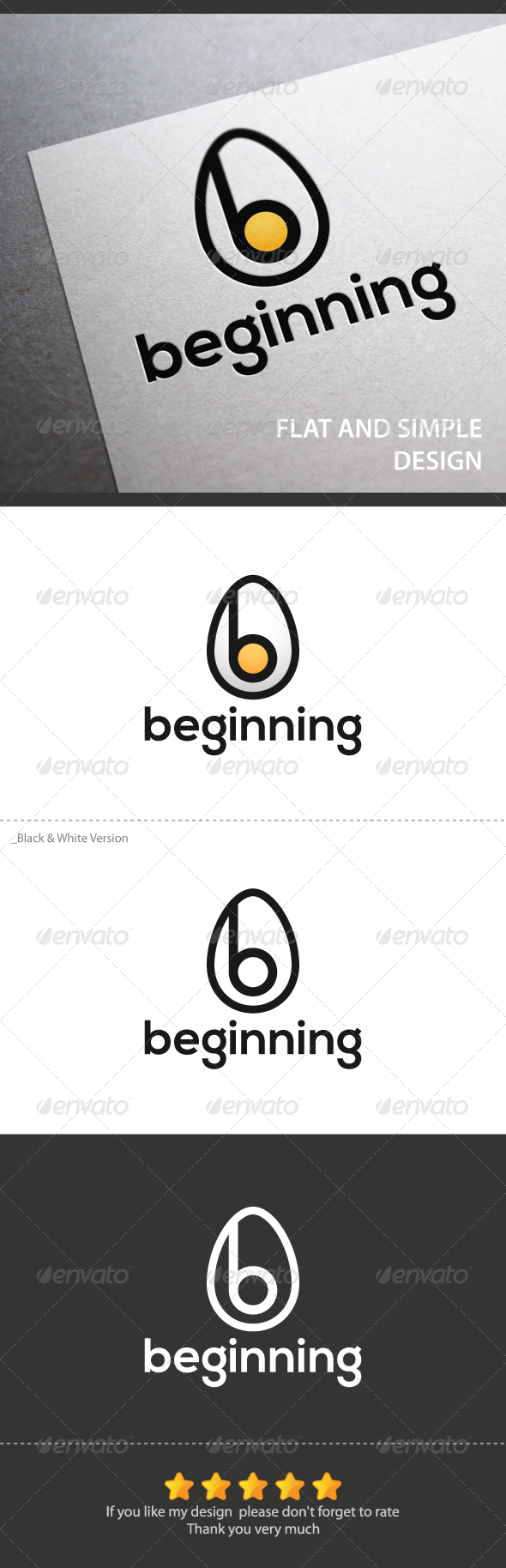 Beginning - Objects Logo Templates