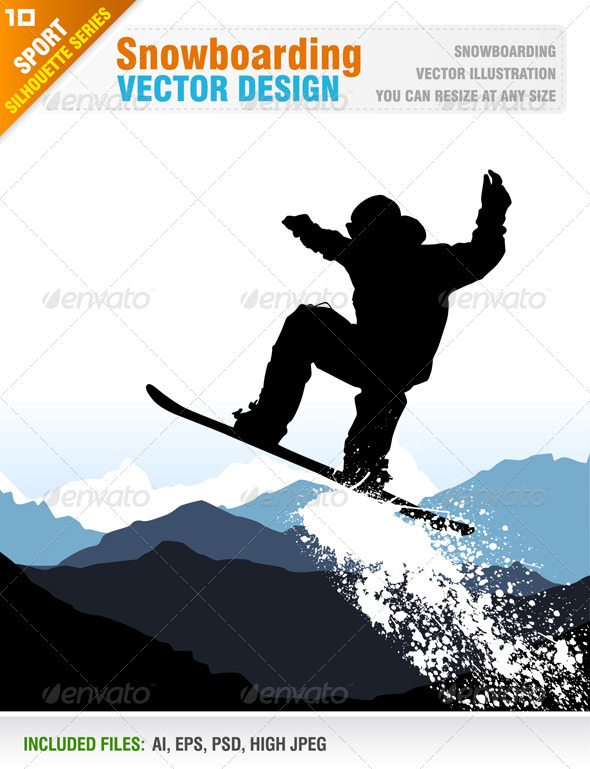 Snowboarding - Sports/Activity Conceptual