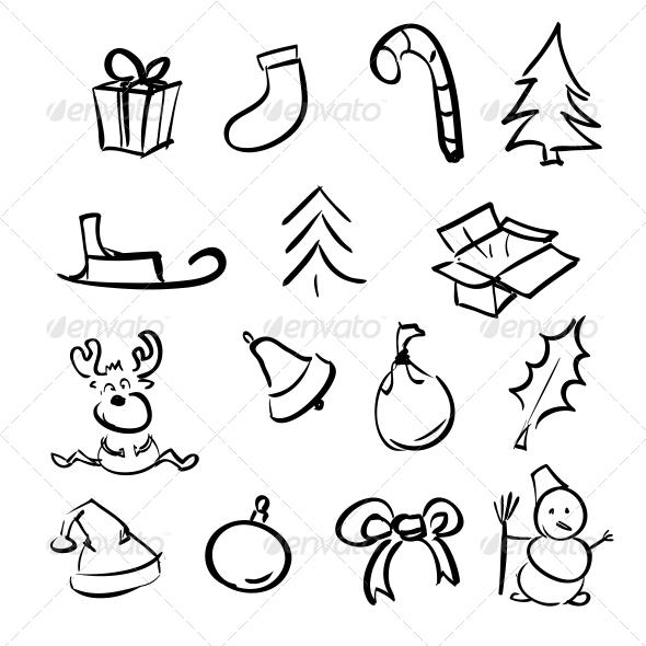 Christmas Objects Collection - Christmas Seasons/Holidays
