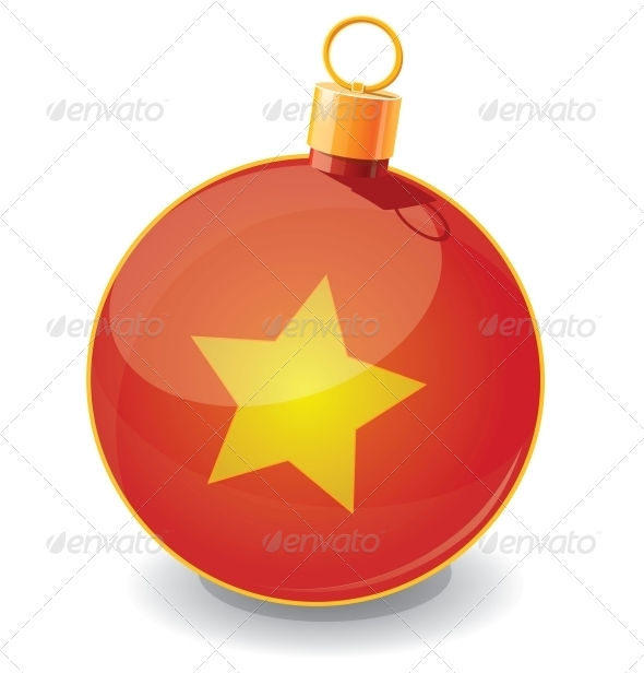 Christmas Toy Ball Icon - Christmas Seasons/Holidays