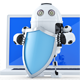 3D Robot with Shield - GraphicRiver Item for Sale