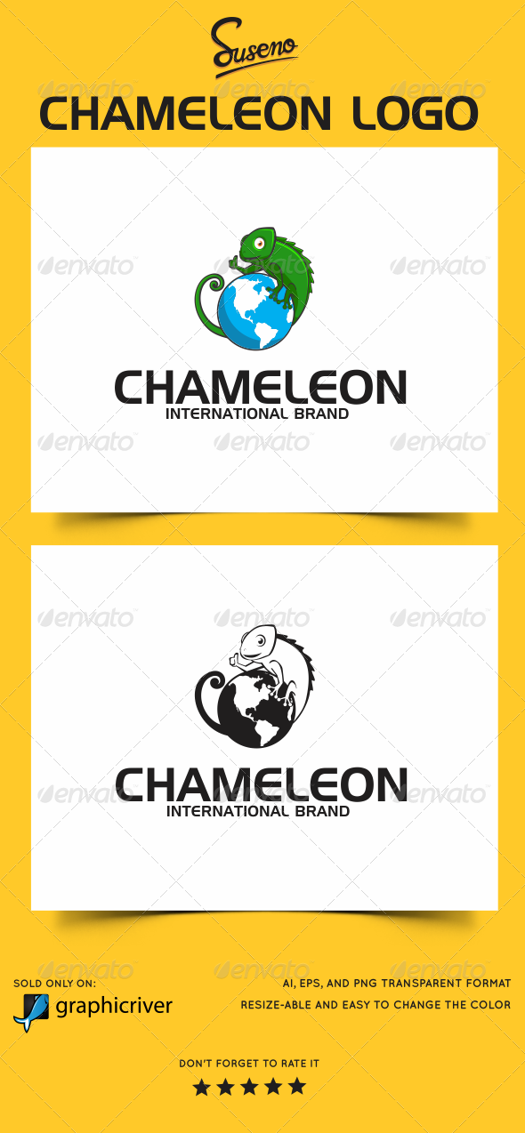 Chameleon Logo - Animals Logo Templates