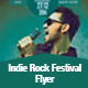 Indie Rock Festival Flyer Template - GraphicRiver Item for Sale