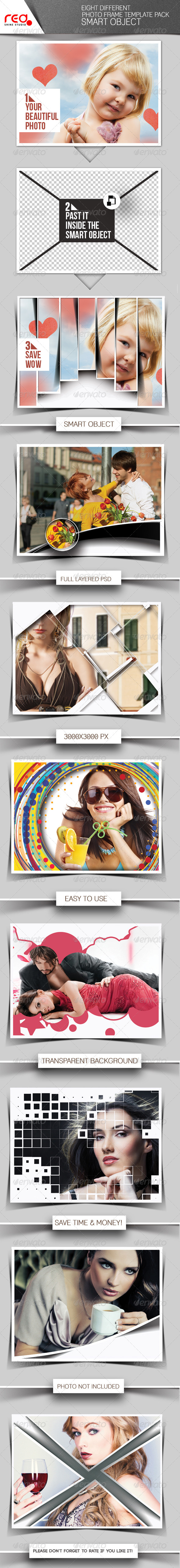 Photo Frame Templates | Vol 3 - Photo Templates Graphics
