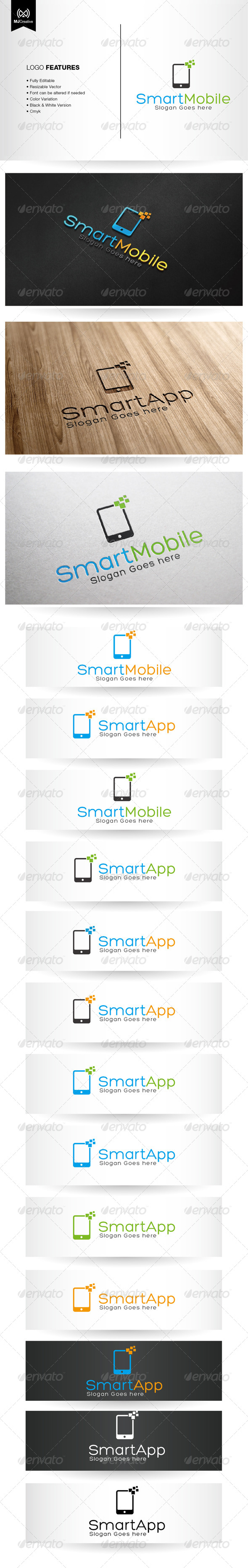 App and Mobile Logo - Objects Logo Templates