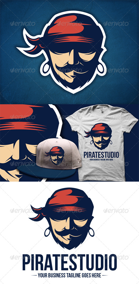 Pirate Logo Template - Humans Logo Templates