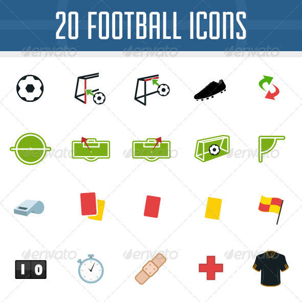 Football Icon Pack - Miscellaneous Icons