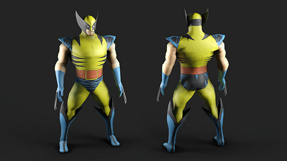 Marvel Comics Wolverine - 3DOcean Item for Sale