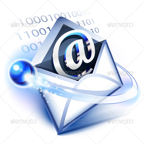 Email - Web Elements Vectors