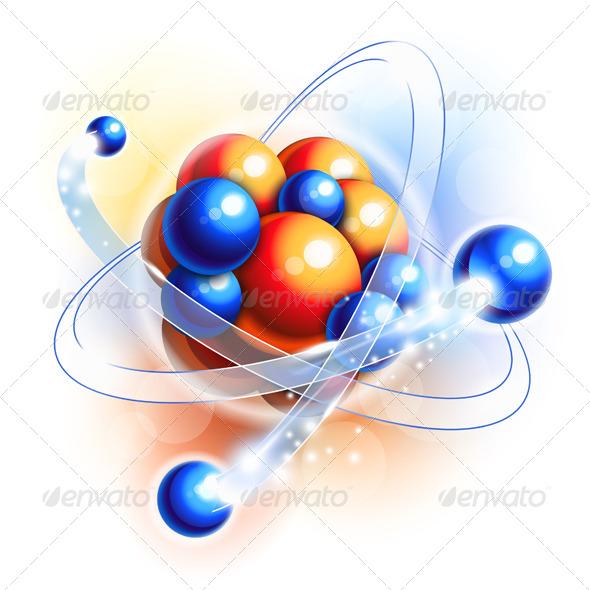 Molecule, Atoms and Particles - Health/Medicine Conceptual