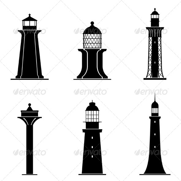 Light Towers - Buildings Objects