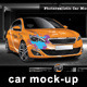 Photorealistic Car Mock-Up - GraphicRiver Item for Sale